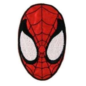 SPIDERMAN Face embroidery iron on patch, 6cm x 9.8cm (4x2.5)