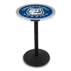 36 UConn Counter Height Pub Table   Round Base  Sports