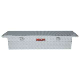 Delta Aluminum Single Lid Low Profile Fullsize Crossover   Bright
