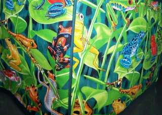 Green Frogs Froggy Quilted 4 Slice Toaster Cover NEW