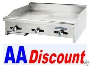 GAS TURBO AIR RADIANCE 24 GRIDDLE FLAT GRILL TAMG 24