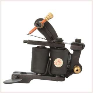 Professional 8 Wrap Coils Cast Tattoo Machine Liner Shader Gun Black