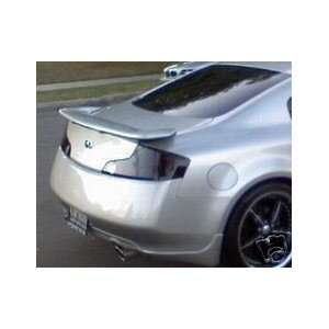 Infiniti G35 Coupe Tail Light Smoked Tint Cover Vinyl 03