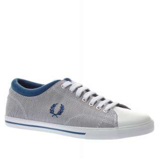 Fred Perry Reprise Stripe Leather Uk Size White Trainers Shoes Mens