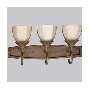 Tropical / Safari 3 Light Bathroom Fixture from th