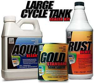 LARGE CYCLE TANK SEALER KIT   KBS COATINGS   12 GALLON TANK   GAS TANK