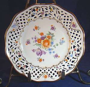 Schumann Bavaria, Germany US Zone. Bone China Decorative Plate