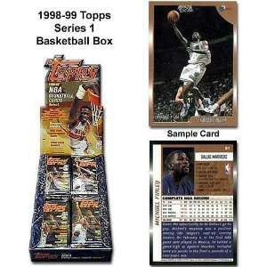 Topps 1998 99 Nba Series One Unopened Trading Card Box