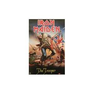 Iron Maiden   The Trooper   Poster 22x35 Everything