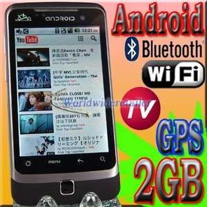TV mobile phone cell G6000 Dual Sim Unlocked GSM WiFi  GPS T Mobile
