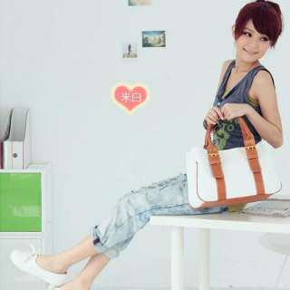 Korean style Ladys Girls leisure Handbag canvas shoulder bag