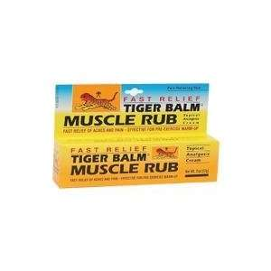 Tiger Balm Pain Relief Muscle Rub 2 oz. Health & Personal