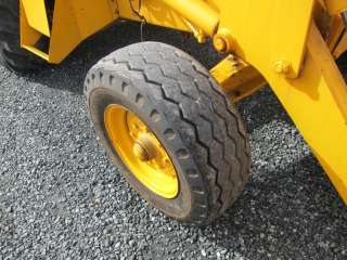 2WD BACKHOE WHEEL LOADER 2 ATTACHMENTS HAMMER CAB CONSTRUCTION KING