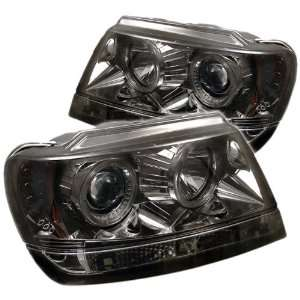 Spyder Auto PRO YD JGC99 HL SMC Smoke Halo LED Projection