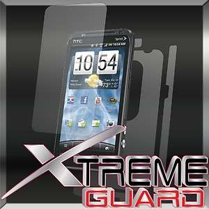 HTC EVO 3D FULL BODY Clear Screen Protector Skin Cover