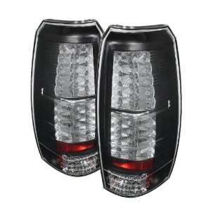 Spyder Auto ALT YD CAV07 LED BK Black LED Tail Light Automotive