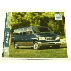 2004 04 Ford E SERIES Van BROCHURE E150 XL XLT RV E250