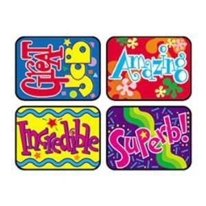 19 Pack TREND ENTERPRISES INC. APPLAUSE STICKERS WONDERFUL