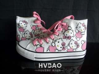 Hello Kitty Womens canvas shoes