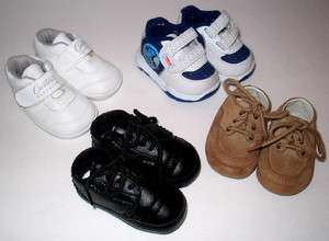 Infant Baby Boy Shoe Lot
