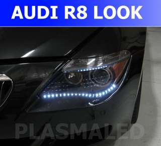 Audi R8 Style LED Strip Lights Hyundai Genesis Coupe