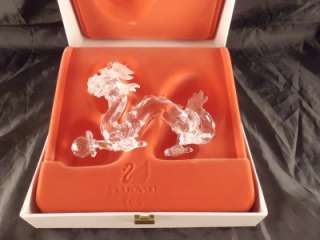 SWAROVSKI CRYSTAL DRAGON MINT IN BOX 208398 RETIRED FIGURE FIGURINE