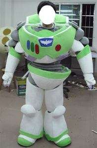 Buzz lightyear Mascot Costume Outfit Suit Fancy Dress SKU 12923857661