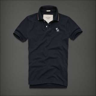 NWT MENS ABERCROMBIE & FITCH POLO SHIRT M L XL 2XL NEW A&F