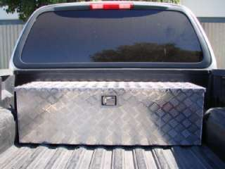 PICKUP BED TRAILER ATV TONGUE LOCKABLE TOOL BOX TOTE STORAGE