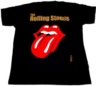 ROLLING STONES T SHIRT Langue Tongue #3 M NEUF tee