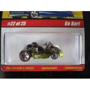 Go Kart (Spectraflame Antifreeze) 2005 Hot Wheels Classics
