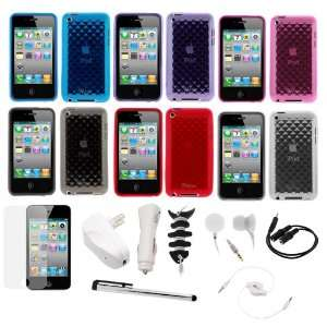 GTMax 14 Items Accessories Bundle kit for Apple iPod touch 8GB 32GB