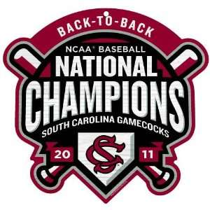 South Carolina Gamecocks Mens 2011 NCAA College World Series National