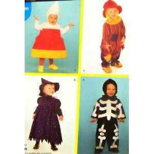 Simplicity Sewing Pattern 2786 Toddlers Costumes Sizes 1