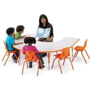 Jonti Craft Rainbow Accents KYDZ Horseshoe Activity Table