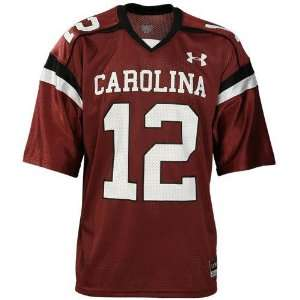 Under Armour South Carolina Gamecocks #12 Garnet Youth