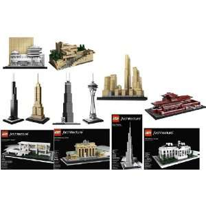Lego Architecture Series Collectors Set Of 12 Toys & Games