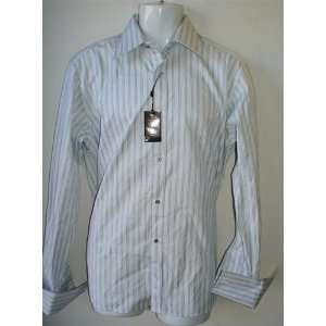 Gucci Mens 100% Authentic Striped Dress Shirt Size 16 New