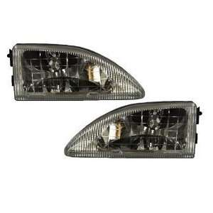 Ford Mustang Headlights Headlamps Driver/Passenger Side