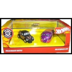 Hot Wheels 40th Anniversary Volkswagen Flashback 2 Car Toys & Games