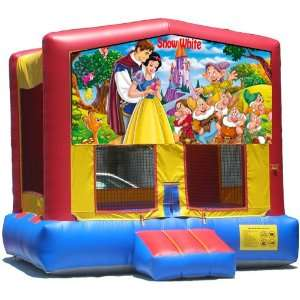 Snow White Bounce House Inflatable Jumper Art Panel Theme