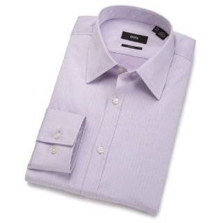 HUGO BOSS Mens Helge Dress Shirt Clothing