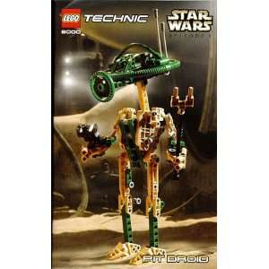 LEGO Star Wars Episode I Technic Set #8000 Pit Droid Toys & Games