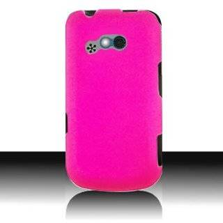 Gel Skin PINK Sleeve Rubber Soft Cover Case for LG 900G [WCG330