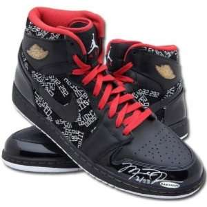 Michael Jordan Signed Hof 6 Rings Ed. Shoes Uda Le 6/23   NBA