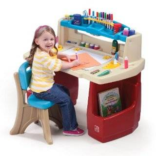 Alex Super Art Table with Paper Roll and Two Benches  Toys & Games