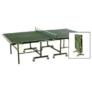 Butterfly Premium Rollaway Indoor Green Ping Pong / Table Tennis Table