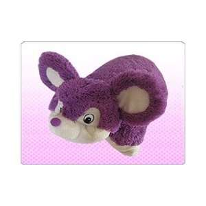 Pillow Pets Large 19 Purple Mouse Stuffed Plush Animal Toys & Games