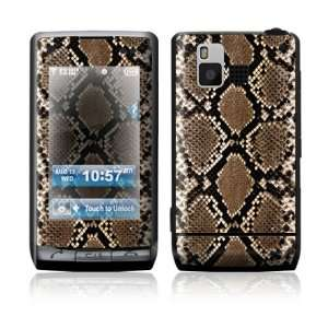 LG Dare VX9700 Skin Sticker Decal Cover   Snake Skin
