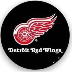Detroit Red Wings Black Spare Tire Cover